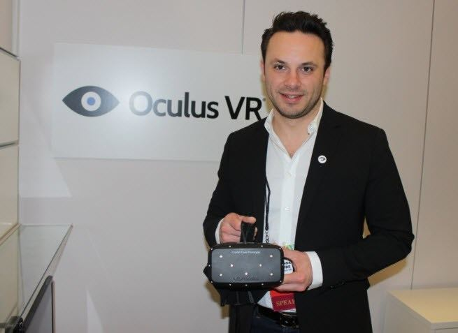 Brendan Iribe New Oculus Rift Prototype Coming Out Soon Walyou