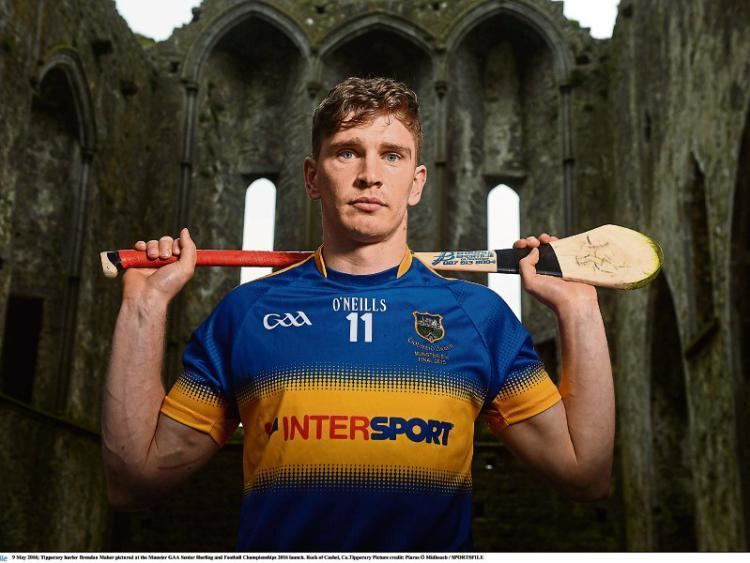 Brendan Maher (Roscrea hurler) Its one step at a time for Tipp Captain Brendan Maher Tipperary Star