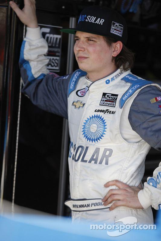 Brennan Poole Brennan Poole HScott Motorsports at Phoenix NASCAR