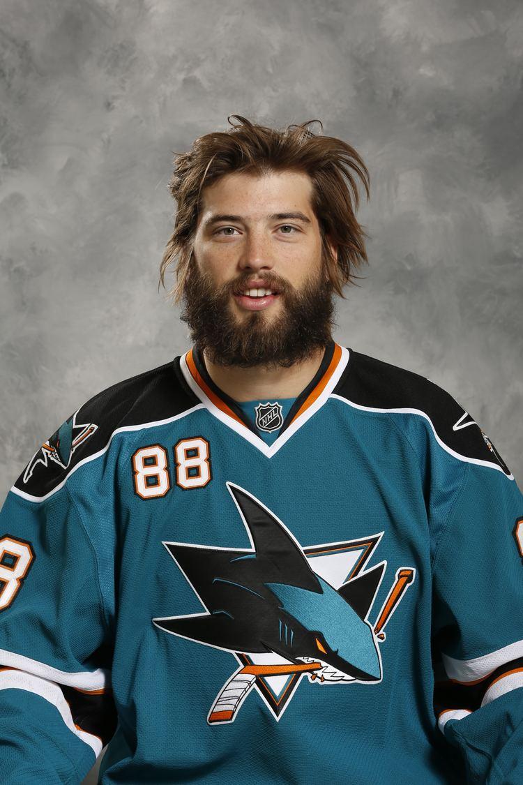 Brent Burns San Jose Sharks39 defenseman Brent Burns a hockey hunk