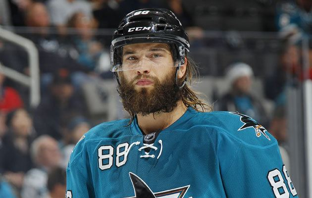 Brent Burns Brent Burns to take a buzz cut and shave for charity