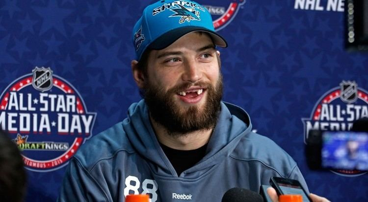 Brent Burns Why Brent Burns is owning NHL AllStar weekend Sportsnetca