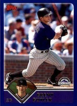 Brent Butler Brent Butler Baseball Statistics 19962007