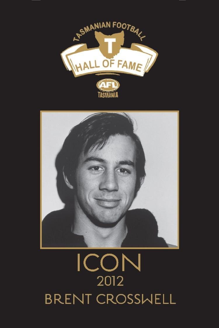 Brent Crosswell 95 Brent Crosswell AFL Tas Hall of Fame