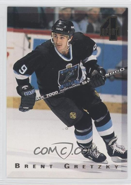 Brent Gretzky 1994 Classic 4 Sport Base 159 Brent Gretzky COMC Card