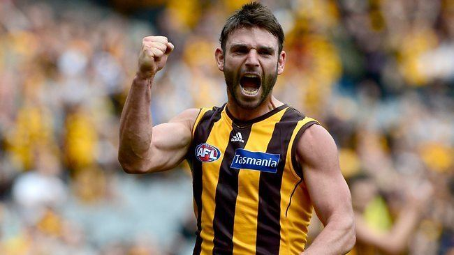 Brent Guerra Hawthorn Brent Guerra will notch game No 250 against
