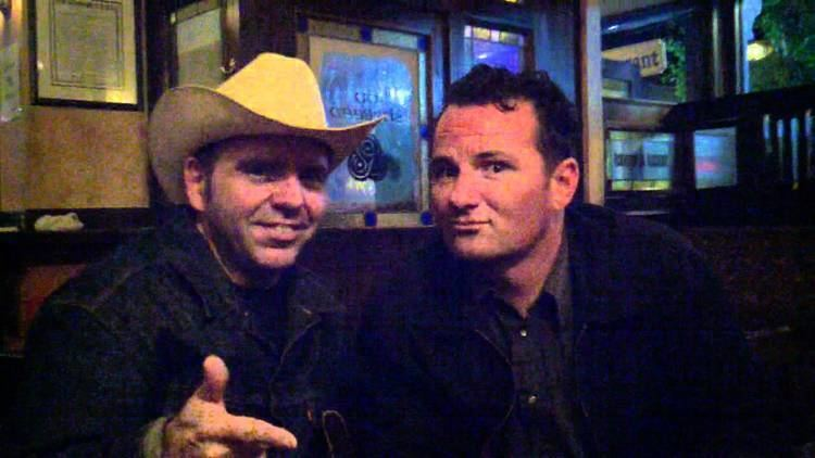 Brent Harding Chris 39Sugarballs39 Sprague and Brent Harding drinking