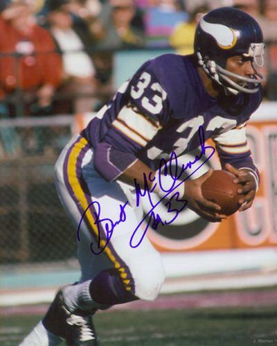 Brent McClanahan Doug Sutherland Vikings Brent McClanahan Minnesota Vikings