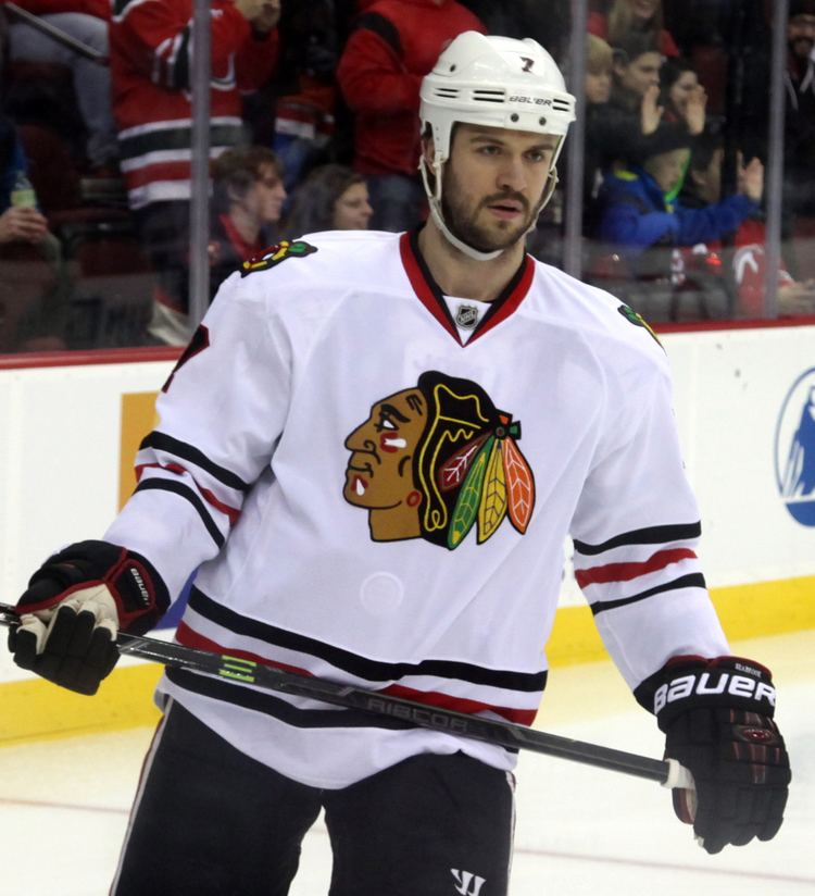 Brent Seabrook Brent Seabrook Simple English Wikipedia the free
