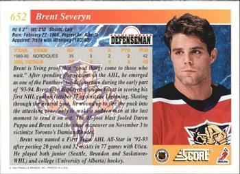 Brent Severyn The Trading Card Database Brent Severyn Gallery