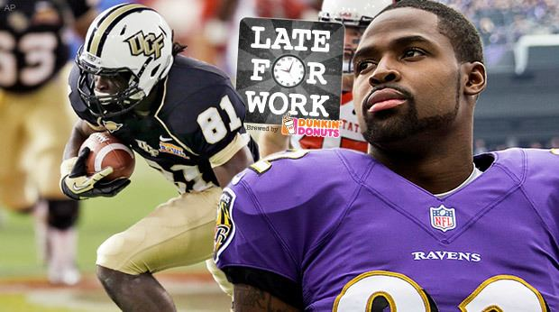 Breshad Perriman Late For Work 51 Torrey Smith Mel Kiper React To Newest