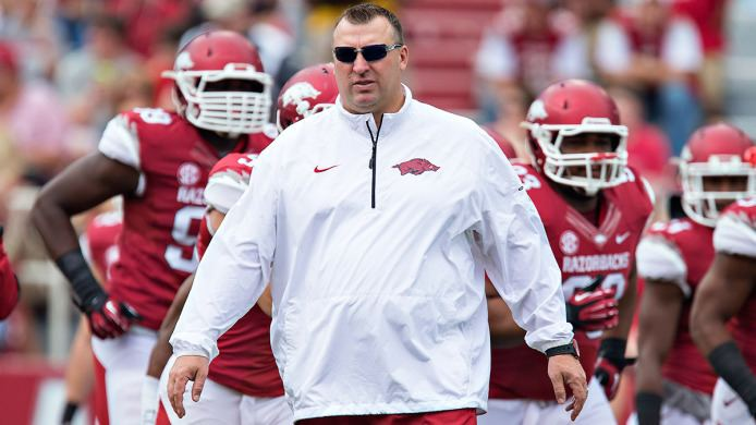 Bret Bielema Tortoise and the Hogs Bret Bielema39s B1G Blueprint Takes