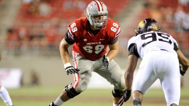 Brett Boyko Saskatoon39s Brett Boyko blocking way to potential NFL