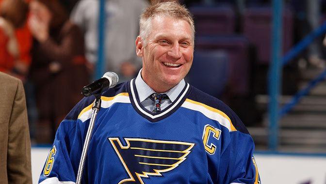 Brett Hull St Louis Blues name Hockey Hall of Fame member Brett Hull