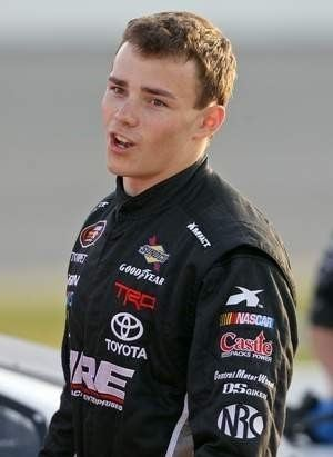 Brett Moffitt Brett Moffitt Racing Sprint Cup test might have been break Grimes
