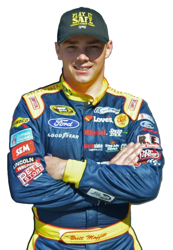 Brett Moffitt Brett Moffitt Racing Grimes Brett Moffitt wins NASCAR rookie of