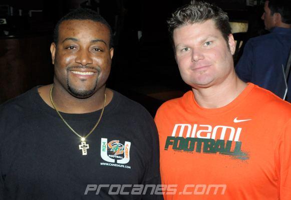 Brett Romberg PHOTOS University of Miami Sports Hall of Fame Celebrity