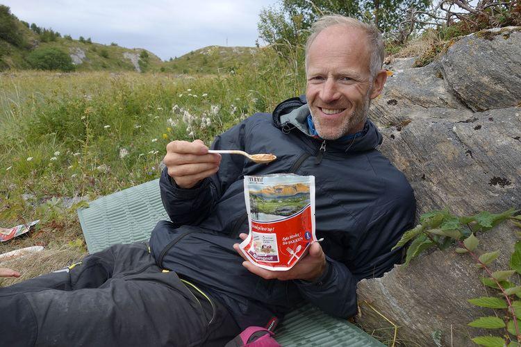 Børge Ousland Brge Ousland tester Norsk Turmat