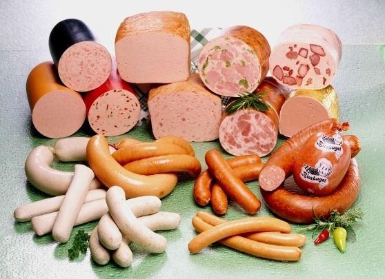 Brühwurst Brhwurst Salsitxa escaldada Cuina alemanya