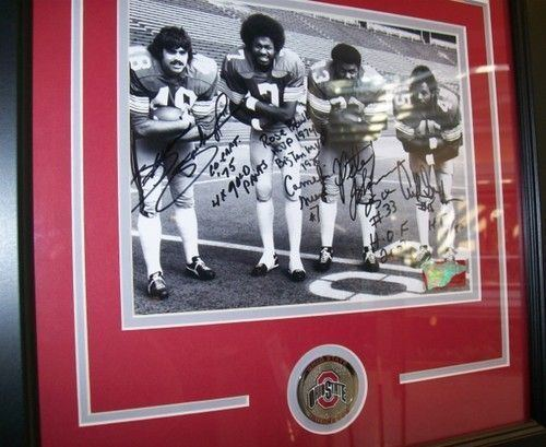 Brian Baschnagel Ohio State Fab 4 Archie Griffin 5589 rushing yards