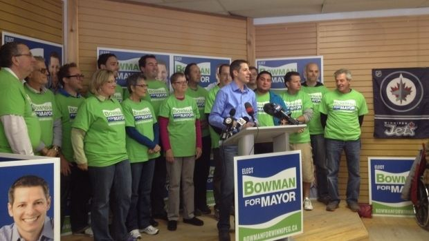 Brian Bowman (politician) Mayoral race not a matter of party politics Brian Bowman
