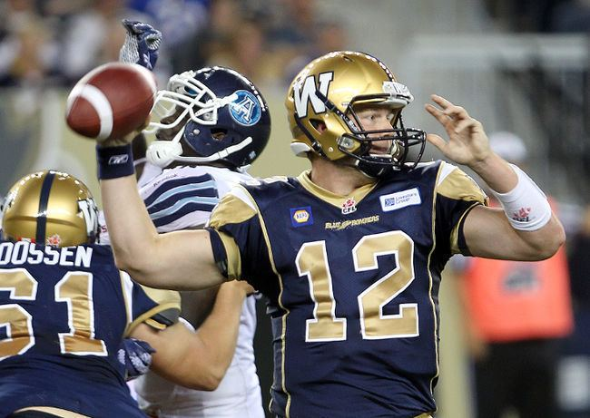 Brian Brohm Brian Brohm set to be the most popular man in Manitoba