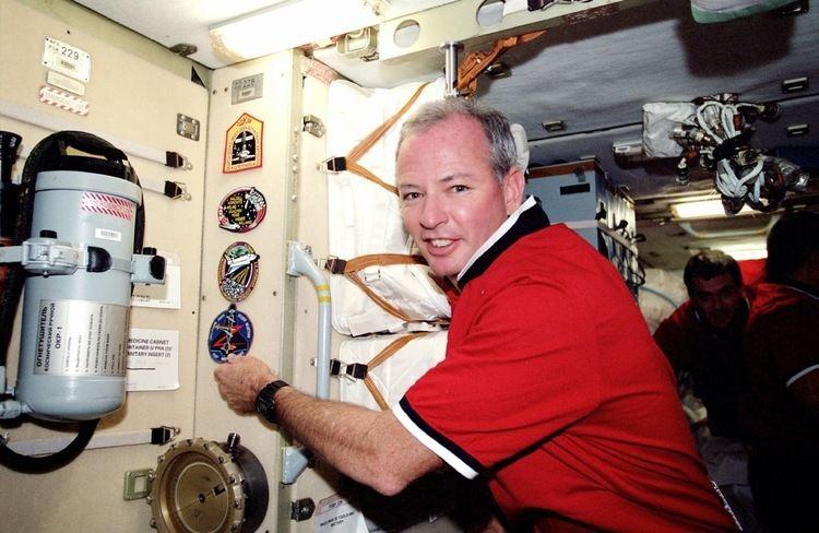 Brian Duffy (astronaut) with veteran NASA astronaut Brian Duffy