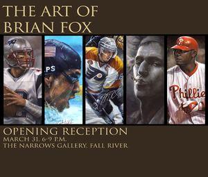 Brian Fox (artist) THE ART OF BRIAN FOX Narrows Center for the Arts