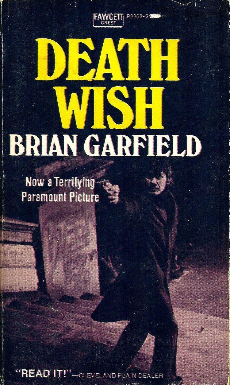 Brian Garfield Pulp Serenade Death Wish by Brian Garfield 1972
