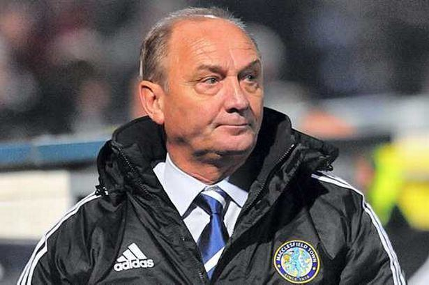 Brian Horton Macclesfield Town boss Brian Horton steeling himself for