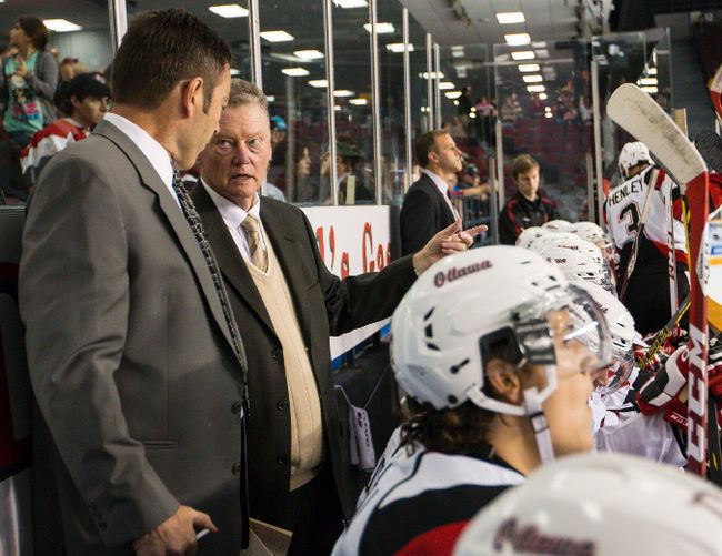 Brian Kilrea Ottawa 6739s win one for Brian Kilrea 6739s Hockey