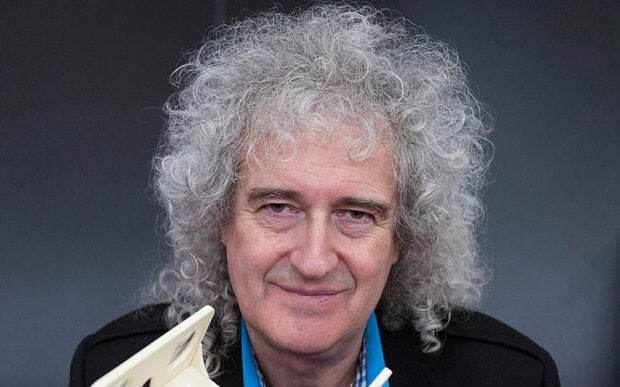 Brian May Brian May reveals plans for final resting place Telegraph