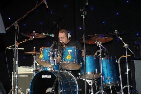 Brian McGee (drummer) X Simple Minds LIVE at the Eastwood Mall Music
