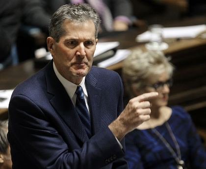 Brian Pallister Pallister the biggest winner out of NDP convention