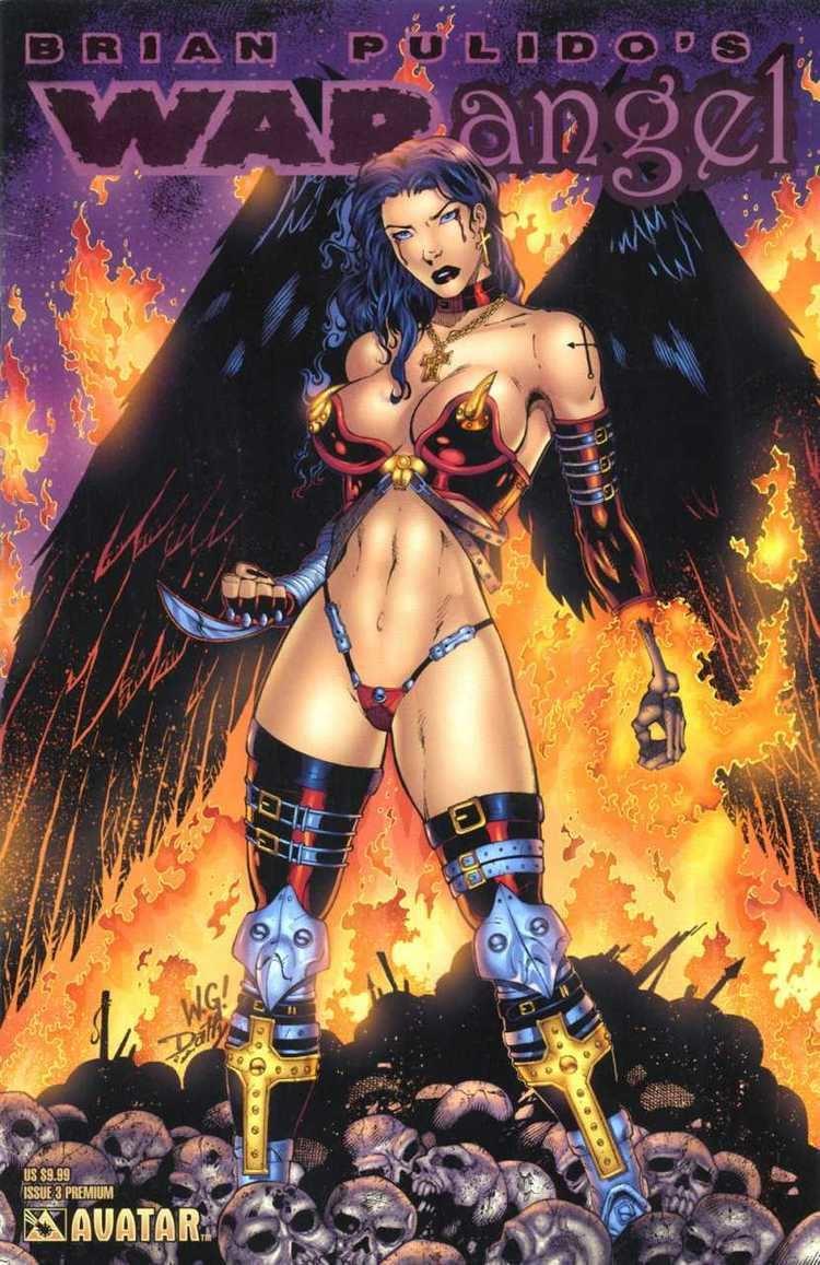 Brian Pulido Brian Pulido39s War Angel 3 Issue