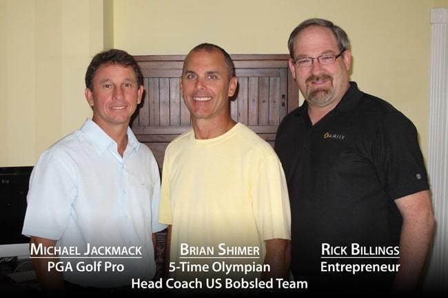 Brian Shimer Michael Jackmack PGA Golf Pro Brian Shimer 5Time Olympian US