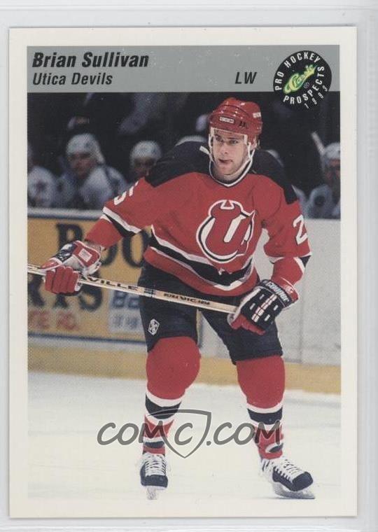 Brian Sullivan (ice hockey) 1993 Classic Pro Hockey Prospects Base 77 Brian Sullivan