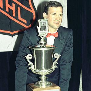 Brian Sutter Silverware 199091 Jack Adams Award Winner Sutter Brian