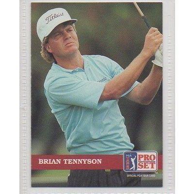 Brian Tennyson 109 Brian Tennyson Golf PGA Tour Trade Card on eBid United