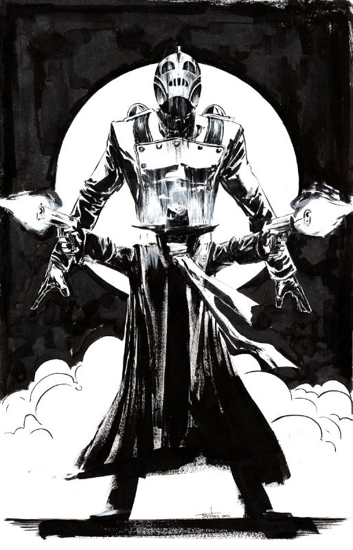 Brian Thies Rocketeer Shadow by Brian Thies in Robert Bakers Commissions