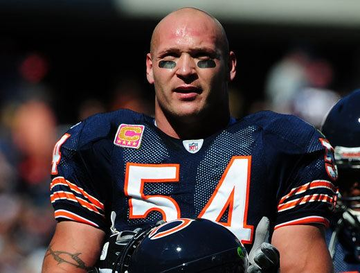 Brian Urlacher Brian Urlacher Retires My Top Ten Linebackers of AllTime