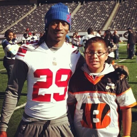 Brian Witherspoon Gabbin39 With CB Brian Witherspoon Giants Gab