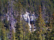 Bridal Veil Falls (Banff) httpsuploadwikimediaorgwikipediacommonsthu
