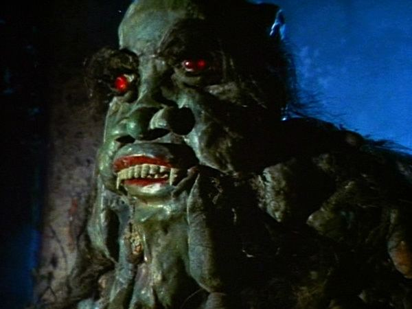 Brides of Blood movie scenes And behold the Rubber Tiki Monster accepted the sacrifice and was pleased