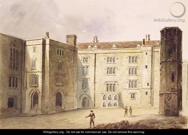 Bridewell Palace FileMaund TheCourtyardatBridewellPalace1880jpg Wikimedia