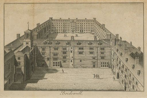 Bridewell Palace Aerial view of Bridewell Palace Look and Learn History Picture Library