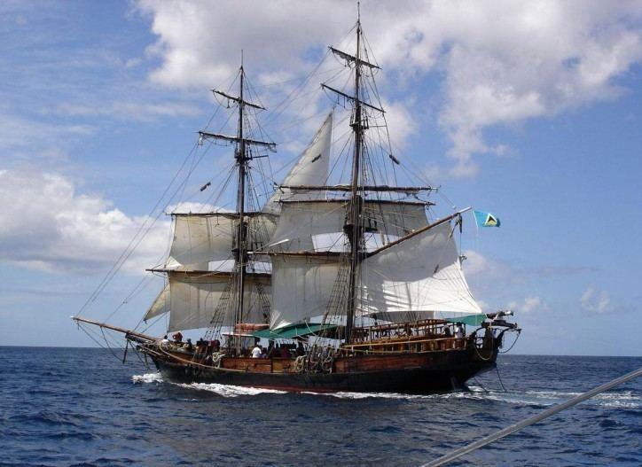 Brig Brig Unicorn History Includes Pirates of the Caribbean