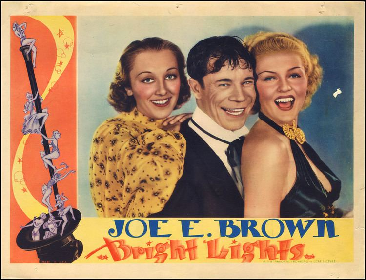 Bright Lights (1935 film) Art Movies Wood and whatnot BRIGHT LIGHTS