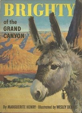 Brighty of the Grand Canyon movie poster