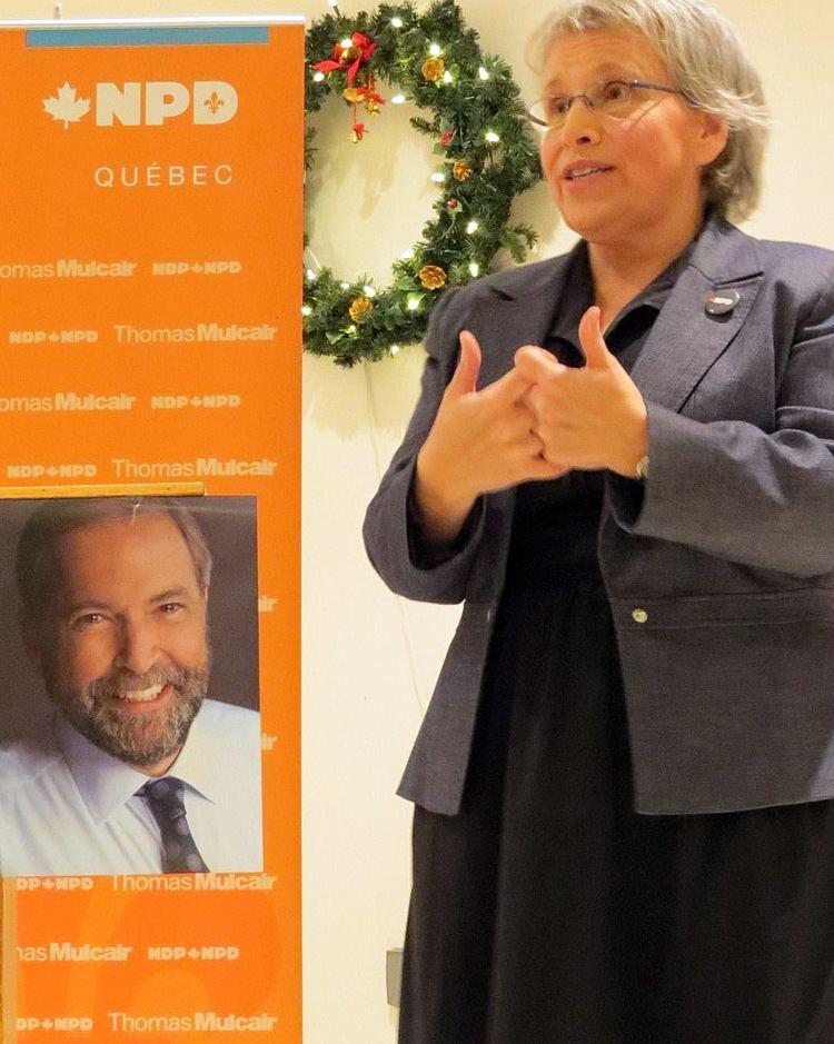 Brigitte Sansoucy NPD Brigitte Sansoucy revient Journal mobiles SaintHyacinthe